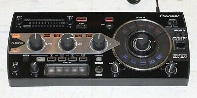 Pioneer RMX-1000 Remix Station in Black with Power Supply •Free Shipping•