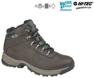 Hi-Tec Eurotrek Lite Leather Walking Hiking Waterproof Mens + Ladies RRP £79.99