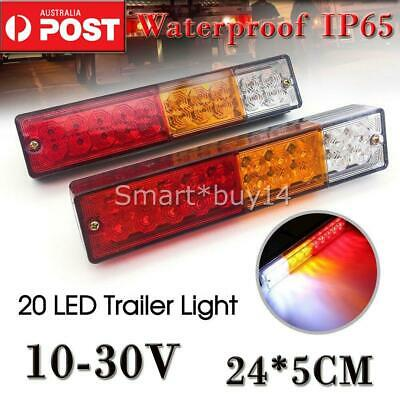Trailer Lights 20 Led Stop Tail Indicator Reflector Truck Camper Light 10-30V Au