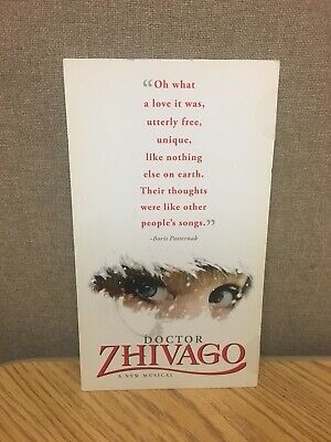 Doctor Zhivago BROADWAY Mailer Flyer Musical New York NY