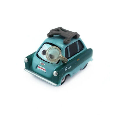Disney Pixar Cars 2 Professor Z With Glass Diecast Metal Toy Model Car 1:55 Gift