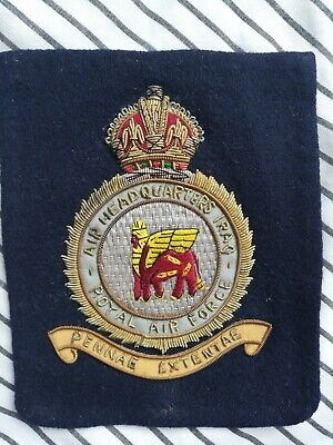 Rare Pocket Badge RAF Headquarters Iraq
