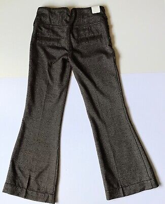 Next Girls Wide Leg Trousers Brown Age 10 Years Bnwt