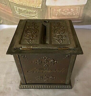 OLD/ORIGINAL EARLY Ornate National Cash Register Co. Receipt / Ticket Box