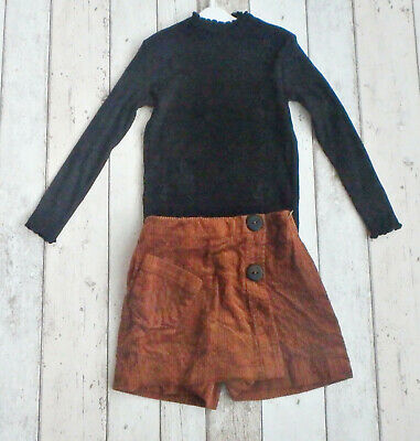 ** FAB Girls Skorts and Top Outfit - Zara (6 years) **