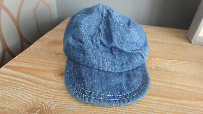 ** FAB Baby Boy Denim baseball Cap - Mothercare (Up to 6 months) **