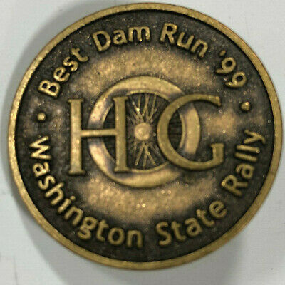 1999 HOG Rally Pin - Best Damn Run (Harley Davidson Owner's Group)