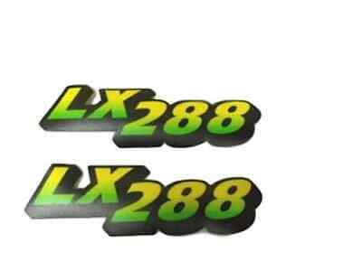 John Deere LX288 lower hood Decal set for a tractor under serial 60000 M126054