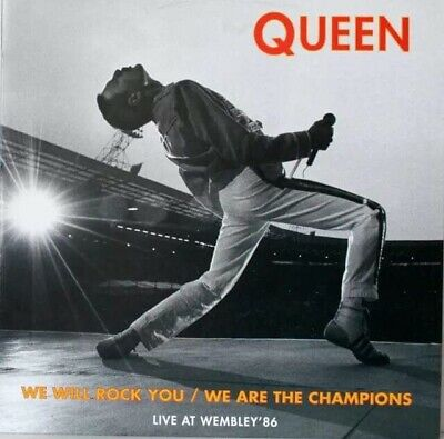 "Queen Live At Wembley 86 12""Vinyl Only Italy Raree"