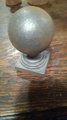Round Stair Parts Baluster Metal post cap FAST DELIVERY Wrought Railing 1.625""