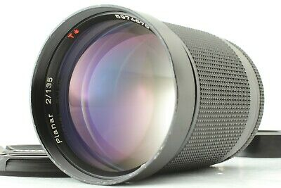 [Opt MINT] Contax Carl Zeiss Planar 135mm F/2 T* AEG C/Y Mount From JAPAN #E95