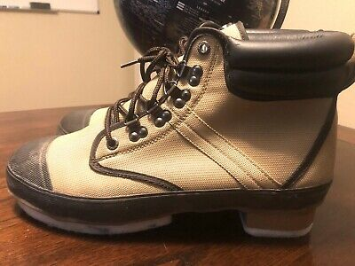 11 Green US Pro Line Men/'s 52102 Nylon Wading Boots with Rubber Outsole