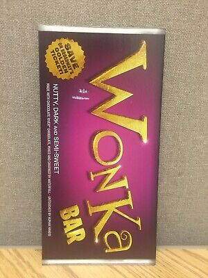 Charlie And The Chocolate Factory BROADWAY Mailer Flyer Musical Willy Wonka NY