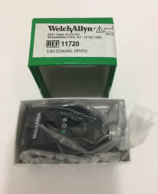 Welch Allyn 3.5V Coaxial Ophthalmoscope Model # 11720 --- New