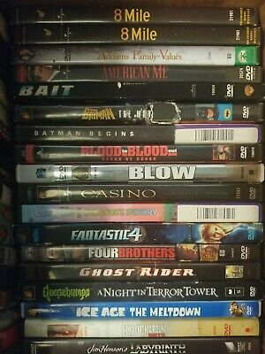 Pick Your Movies (DVD) only $1.99 each Variety Lot Sale