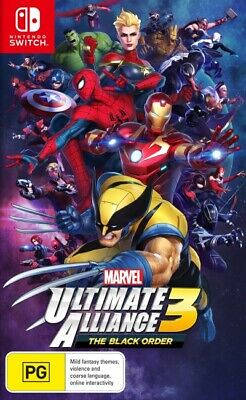 Marvel Ultimate Alliance 3 The Black Order  - Other game - BRAND NEW