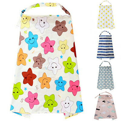 AU Stock Breastfeeding Cover Feeding Baby Nursing Apron Women Mum Shawl Clothes