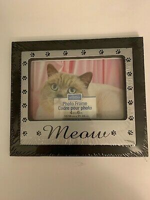 "Cat ""Meow"" Photo Frame"