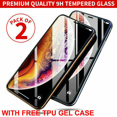 Tempered Glass Screen Protector for iPhone XS Max XR XS X 11 Pro Max 7 Plus 6 8+
