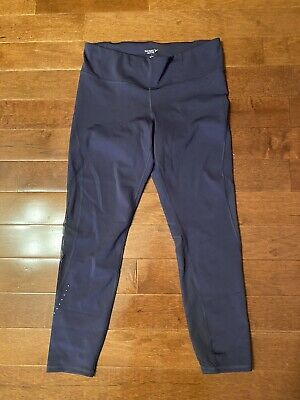 Old Navy Active Capri Pants Womens Size Large Purple Cropped Leggings Exercise