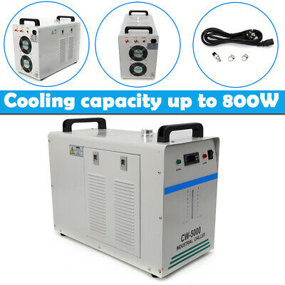 CW-5000 Industrial Water Chiller Cooler for 80W/100W Spindle Cooling Welding