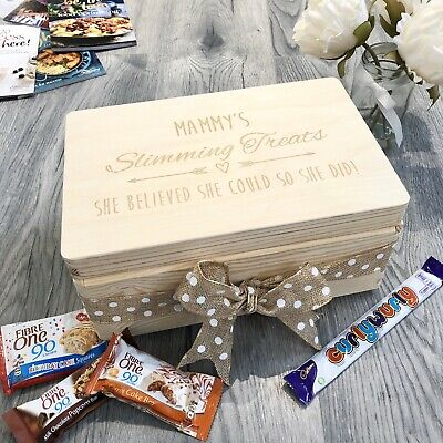 Personalised Slimming World Treat Box Weight loss Watcher syn Milk Planner