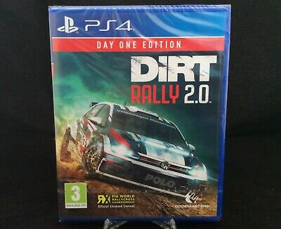 Dirt Rally 2.0 - Day One Edition (PS4) New & Sealed UK PAL Fast free Delivery
