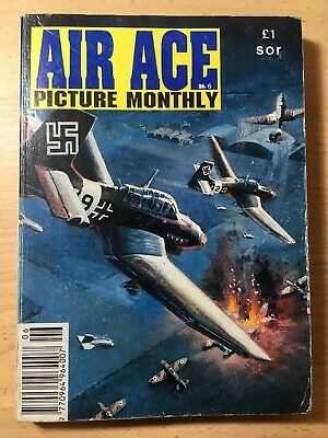 1992 Air Ace  Library Picture Monthly Comic  Special. 3 Stories. VG Cond.