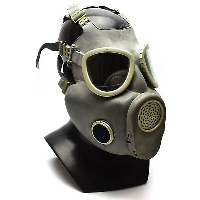Polish Military Gas Mask MP-4 Genuine respiratory chemical Grey Olive NEW