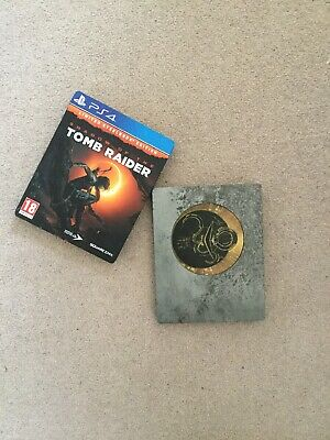 Ps4 shadow of the tomb raider steel book collecters edition