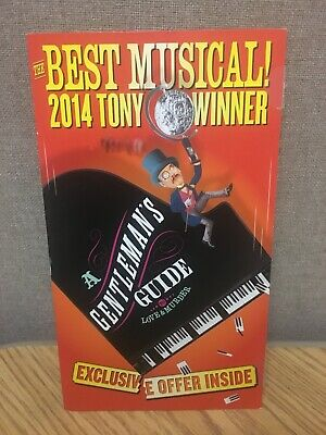 Gentlemen's Guide To Love And Murder BROADWAY Mailer Flyer Musical Tony