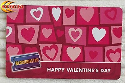 Collectable BlockBuster Gift Card $0.00 No Value  (lot 381)