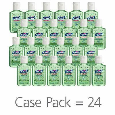 PURELL Advanced Hand Sanitizer Soothing Gel, Fresh scent, with Aloe Case of 24