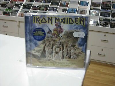 Iron Maiden CD Europe Somewhere Back IN Time 2008 The Best Of 1980-89