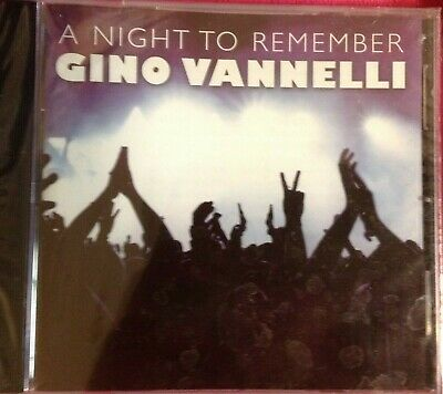A Night to Remember: Greatest Hits in Concert by Gino Vannelli (CD, Oct-2011,...