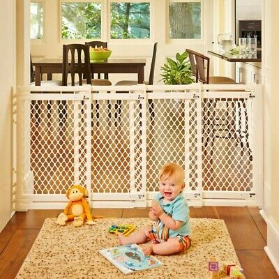 """North States 62"""" Wide Extra-Wide Baby Gate"""