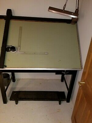 Vemco Drafting Machine with 3' High X 5' Wide Tilting Table