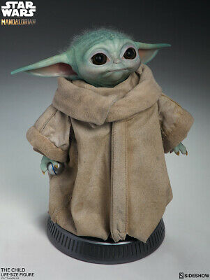 """THE CHILD (BABY YODA) Sideshow Collectibles 16"""" Life Size Figure PREORDER"""