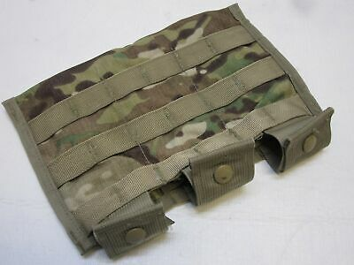 Used Army Ocp Issue Multicam Pouch Triple Mag Shingle Molle 8465-01-580-0967