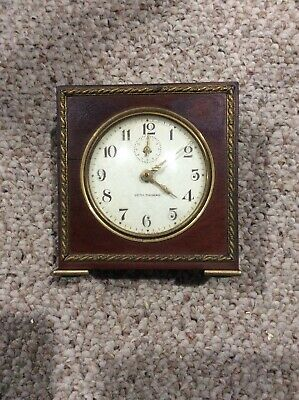 Vintage Seth Thomas Severn Alarm Clock  Not Running.