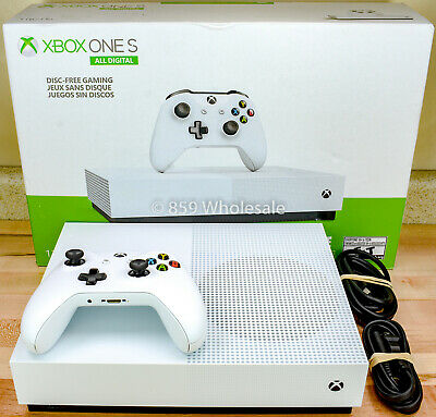 Used Microsoft Xbox One S 1TB All-Digital Edition Console (DISC-FREE GAMING)  J1