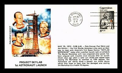 Dr Jim Stamps Us Project Skylab 1St Astronaut Launch Space Event Cover Philgraf