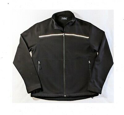 Columbia Ascender Softshell Jacket Mens Black Full Zip UK Size S Small *REF91