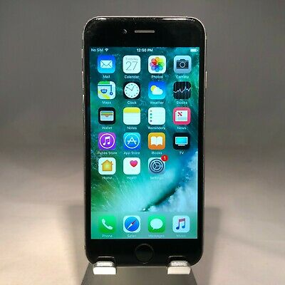 Apple iPhone 6S 128GB - Space Gray - AT&T Unlocked - Fair Cond - Low Bat