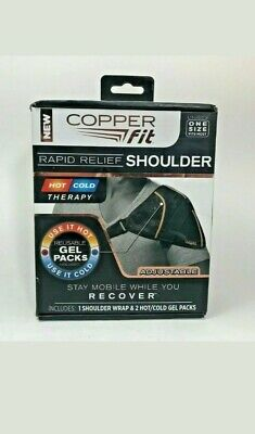 Copper Fit Rapid Relief Hot and Cold Shoulder Wrap