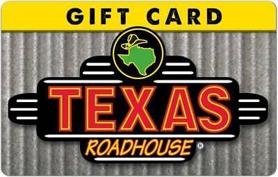 $50 Texas Roadhouse Gift Card - 30% OFF - (EMAIL DELIVERY ONLY)