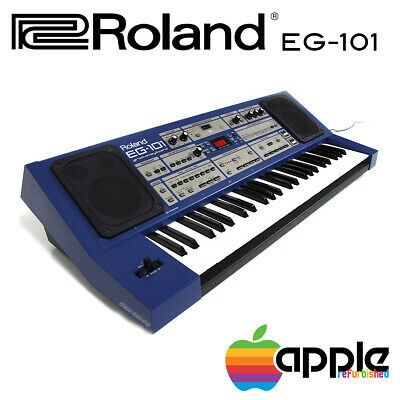 Roland Eg-101 Vintage Groovekeyboard Arranger Sequencer Synthesizer Come Nuovo