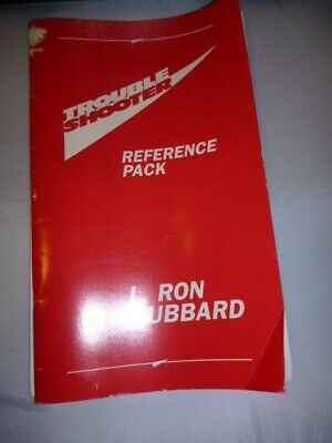 Black troubleshooter case with reference Pack Scientology Hubbard