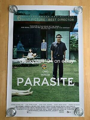 Parasite DS Theatrical Movie Poster 27x40