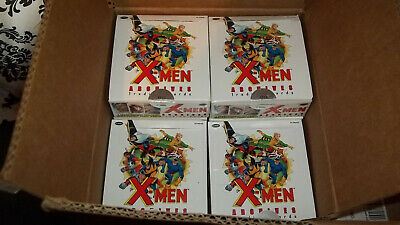 Lot 10 Empty Boxes of Marvel X-Men Archives Trading Cards plus Case